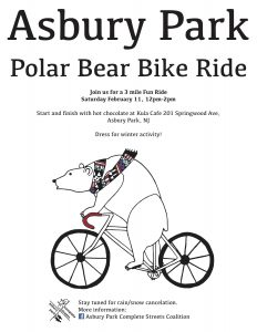 Asbury Park Polar Bear Bike Ride